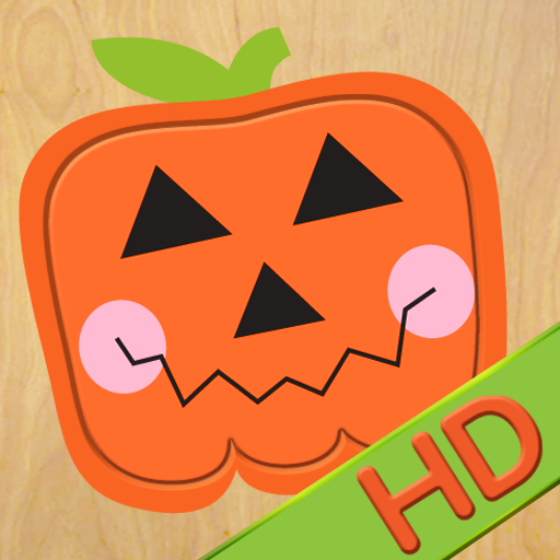 Wood Puzzle Halloween HD